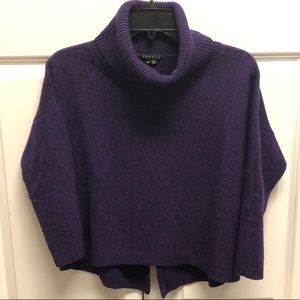 Theory wool cropped sweater